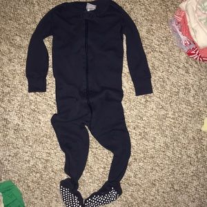 Hanna Andersson footed sleeper size 80